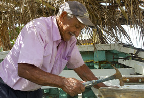 Ismael Soliano, who captained the boat for about four years, is among many volunteers involved.