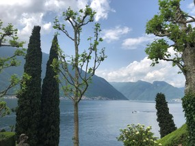 Lake Como view from Villa Balbianello.JPG
