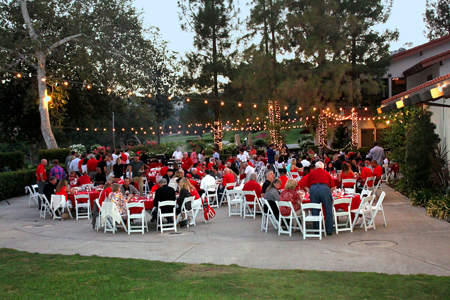 The Alumni Club of Los Angeles hosts its Kickoff Barbecue at the Calabasas Country Club.