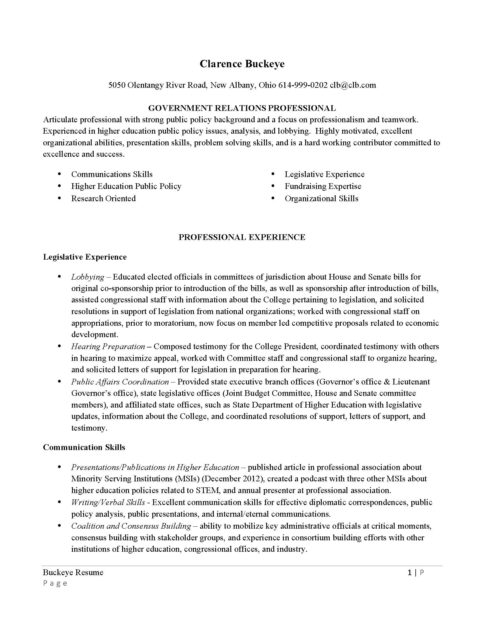 Resumes and cover letters - The Ohio State University Alumni ...