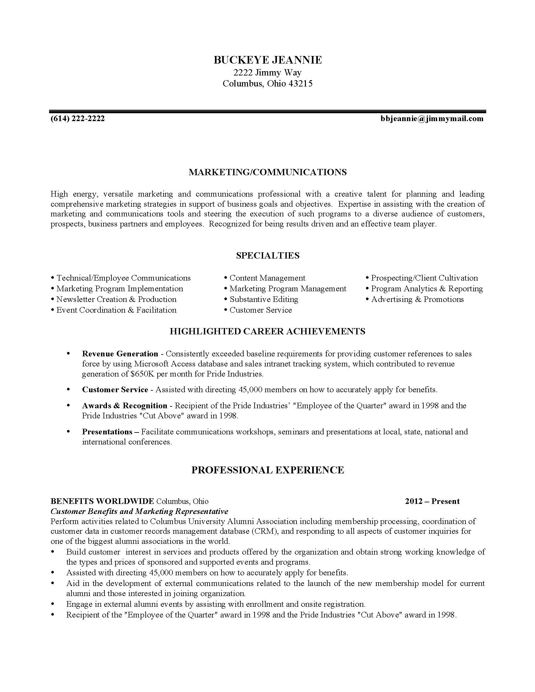 download - Email Marketing Cover Letter