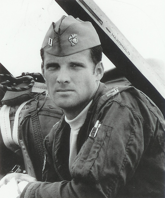 Larry Ernst as a young pilot