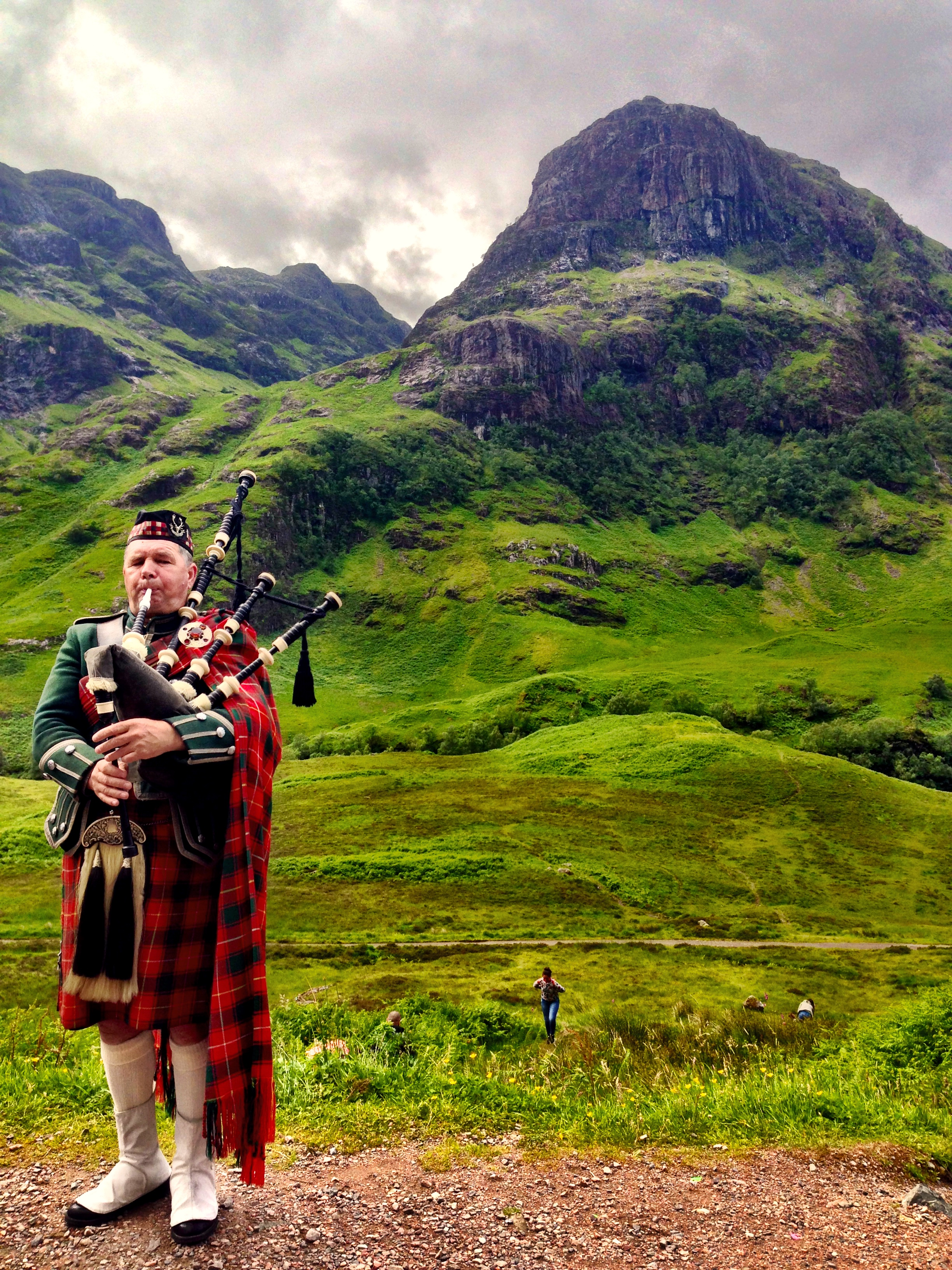 A highlander and his tune