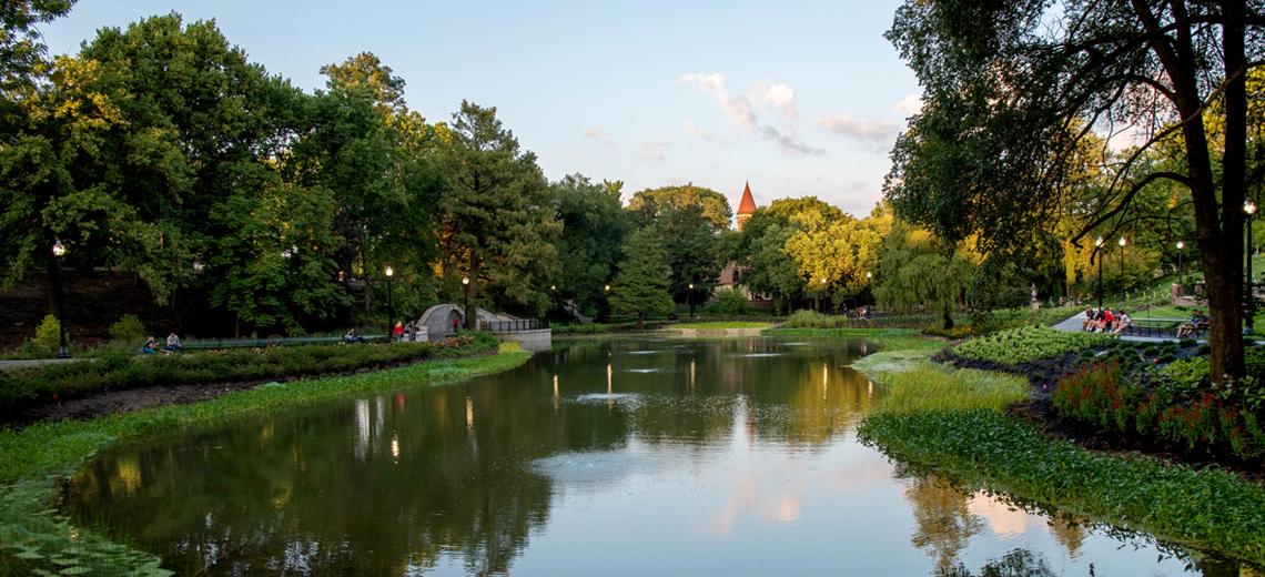 Mirror Lake is Back | Ohio State Alumni Magazine