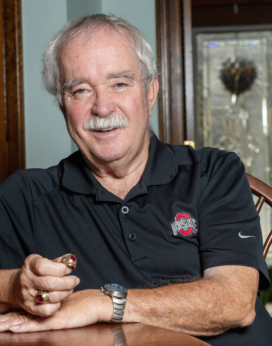 John Beck '64 was reunited with his class ring after a 40-year separation.