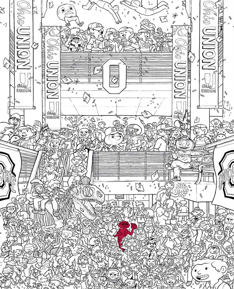 Ohio State hidden objects