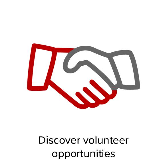 Discover volunteer opportunities