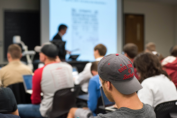 photo of class session at Ohio State