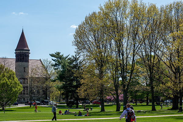 photo on campus at Ohio State