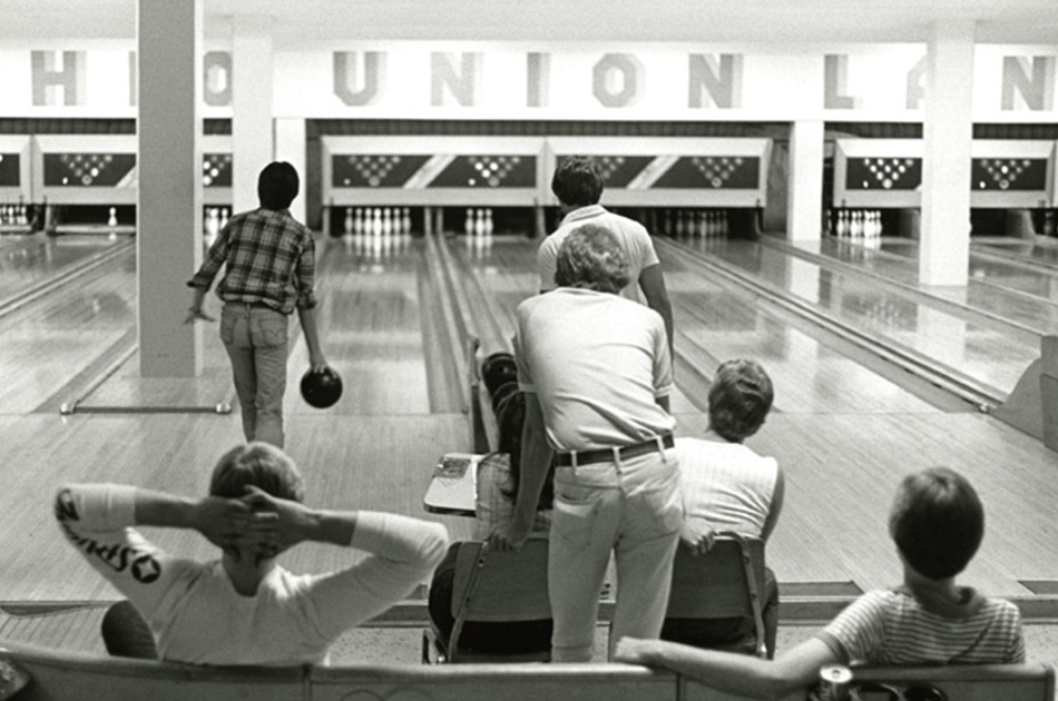Bowling in the old Ohio Union