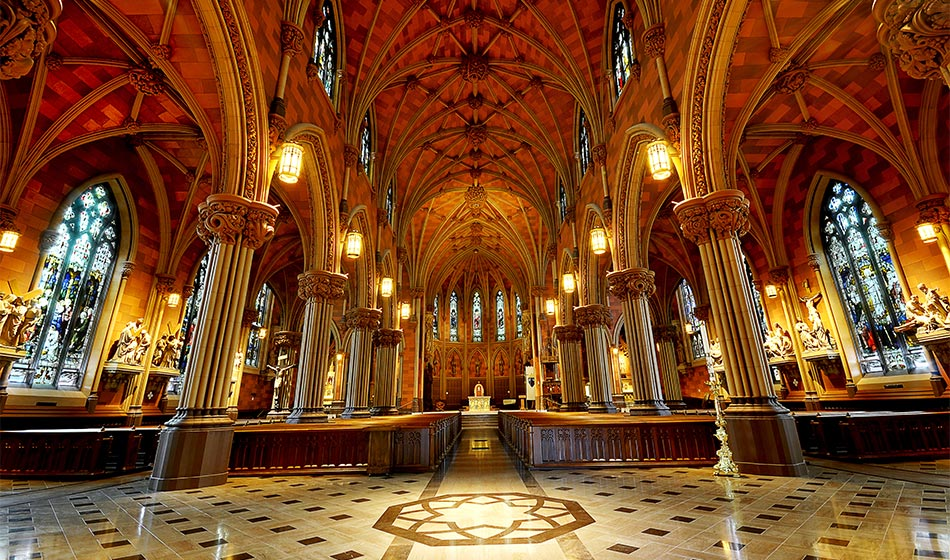 Cathedral of the Immaculate Conception in Albany, New York
