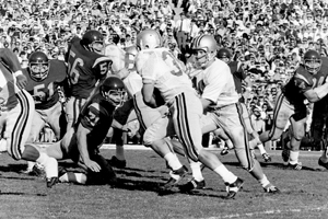 The Buckeyes play in the Jan. 1, 1969, Rose Bowl