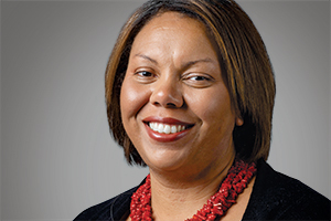 Ohio State University professor and chair of the Department of African and African American Studies Simone Drake