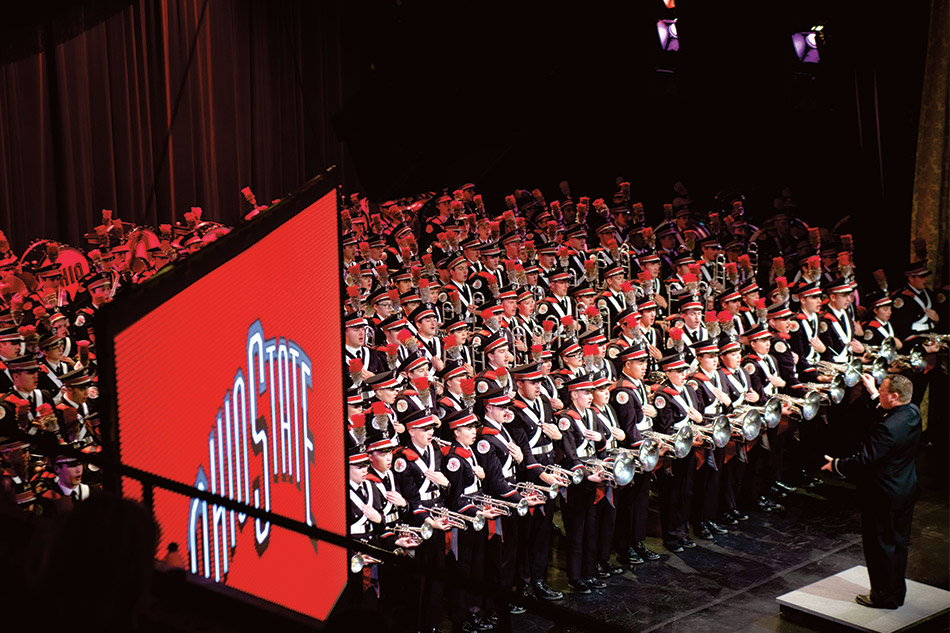 The band thrills 650 Buckeyes at a rousing Skull Session