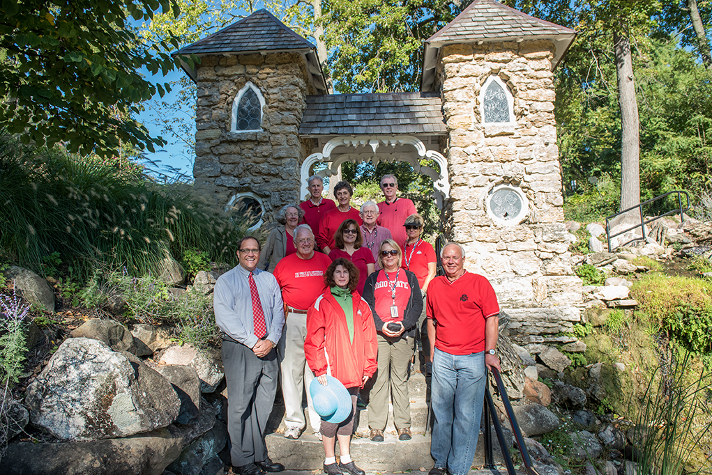 Ohio State alumni volunteers have helped revive the Dayton VA Medical Center's historic Grotto Gardens.