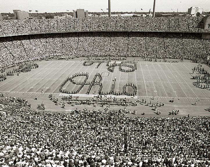 First quadruple Script Ohio, 1977