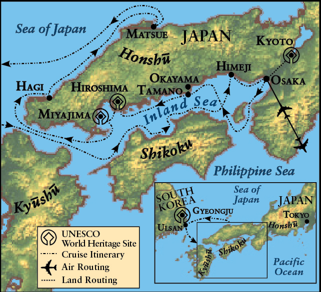 The ancient traditions of the inland sea of japan the ohio state island sea of japan and south korea mapg gumiabroncs Images