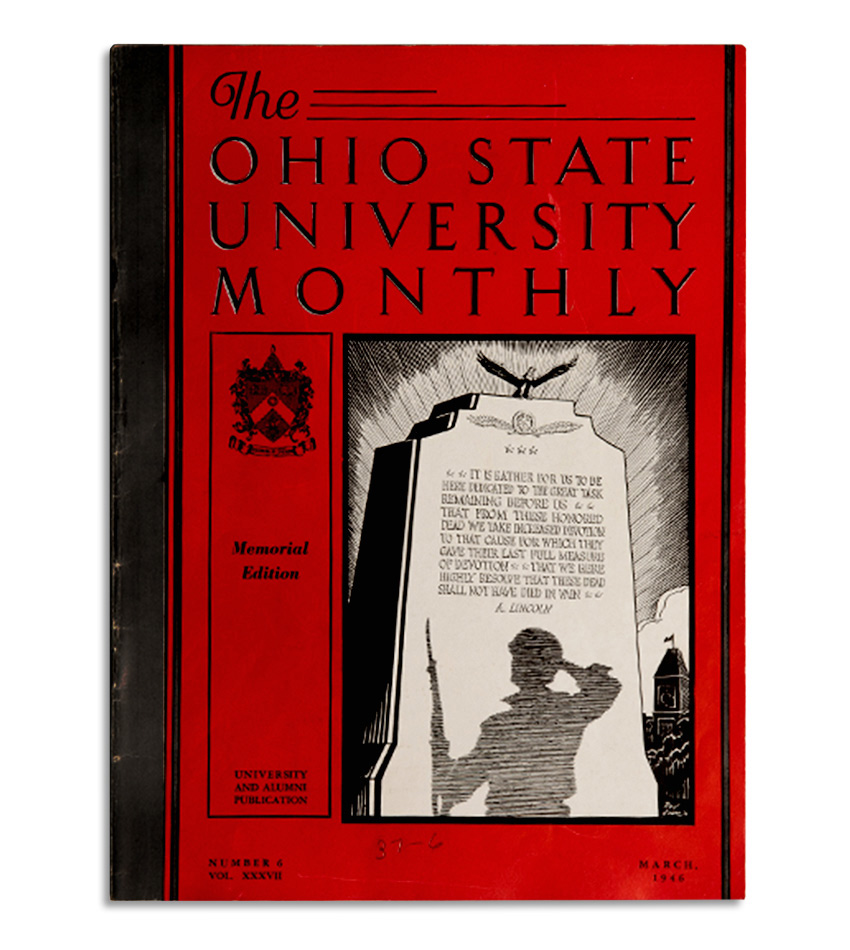 <em>The Ohio State University Monthly</em>, March 1946