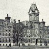 University Hall in 1874 housed everything - from classrooms to a chapel.