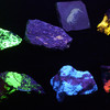 The Orton Geological Museum has a display of glow-in-the-dark minerals. It is free to visit.