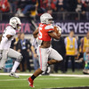 Ezekiel Elliott runs for one of his four touchdowns in the game.