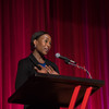 Margot Lee Shetterly, author of Hidden Figures, speaks on the importance of diversity in STEM during a discussion on March 21 at Fawcett Center.