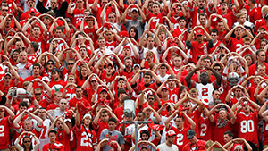 Ohio State football fans sing Carmen Ohio