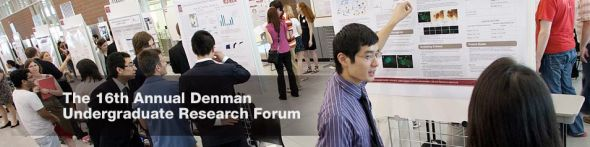 The 16th Annual Denman Undergraduate Research Forum