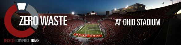 Zero Waste at Ohio Stadium
