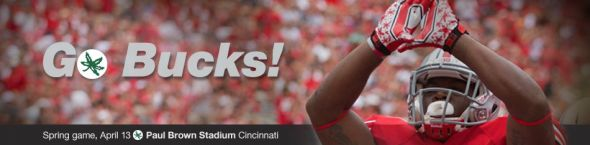 Spring game: Go Bucks, in Cincy!