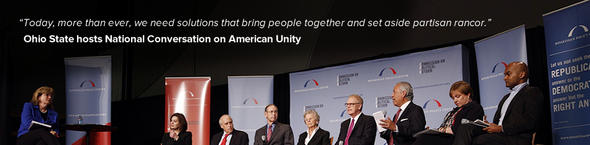 Ohio State hosts National Conversation on American Unity