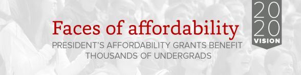 Faces of affordability