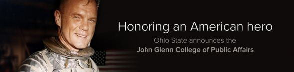 Ohio State announces the John Glenn College of Public Affairs