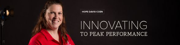 Innovating to peak performance