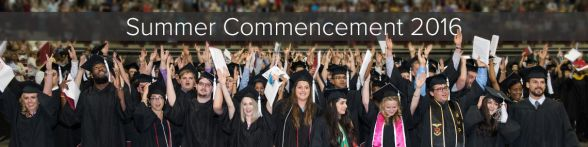Summer Commencement 2016