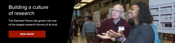 Denman Forum History | Undergraduate research | Ohio State
