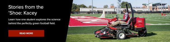 Ohio State Football Provides Education For Turf Grass Student