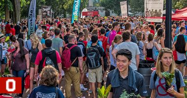 A Peek at Welcome Week | The Ohio State University