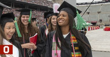 A biomedical student's Ohio State journey ends in celebration as she looks to the future