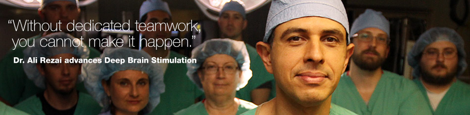 Dr. Ali Rezai advances Deep Brain Stimulation at Ohio State