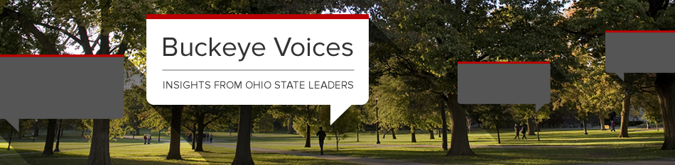 Featured news item: The university's blog: Buckeye Voices