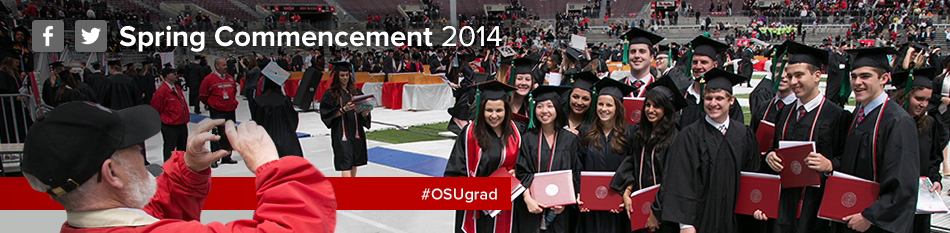 Their Buckeye moment: Commencement