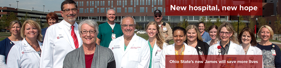 Featured news item: New hospital, new hope
