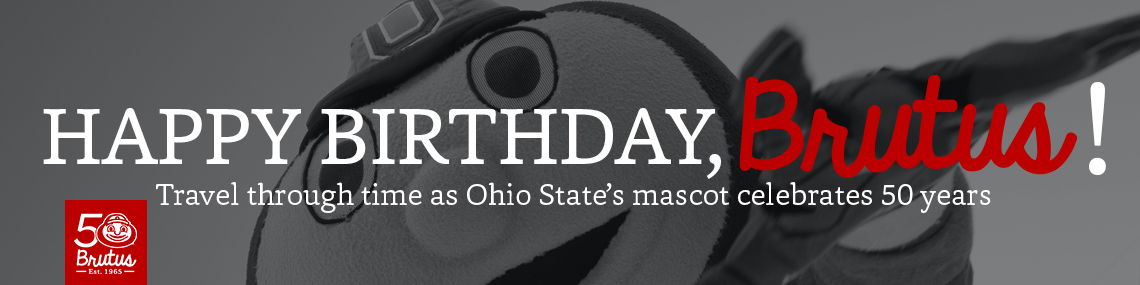 Featured news item: Happy birthday, Brutus!