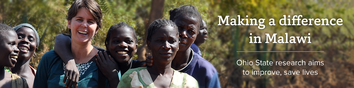 Featured news item: Saving lives in Malawi