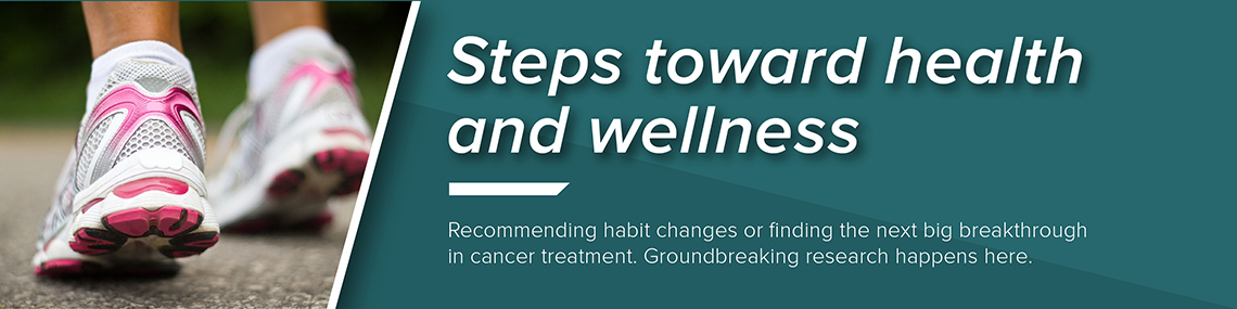 Featured news item: Steps toward health and wellness
