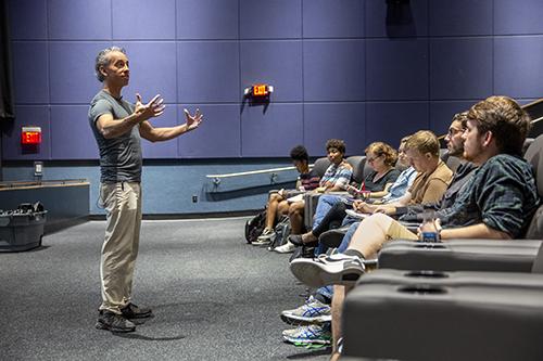 Frederick Luis Aldama teaches