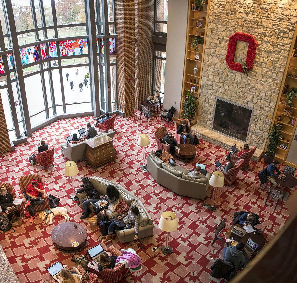 Ohio Union Fireplace Lounges The Ohio State University