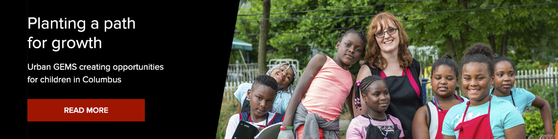 Featured news item: Ohio State Outreach Aids Community Through Urban GEMS