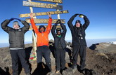 O-H-I-O on the Roof of Africa